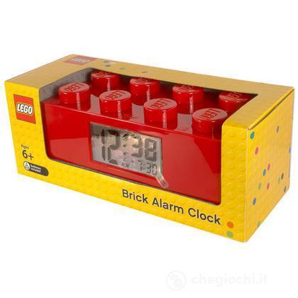 Brick sveglia Lego rossa