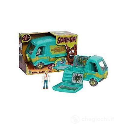 Scooby Doo Modello Auto Mystery Machine con Personaggio Fred Alto 10 cm