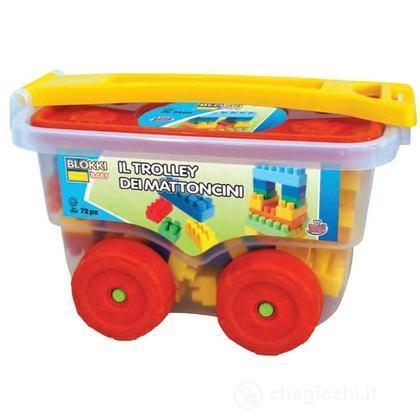 Trolley con costruzioni (GG81053)
