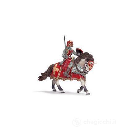 Cavaliere a cavallo con spada: Giglio (70056)