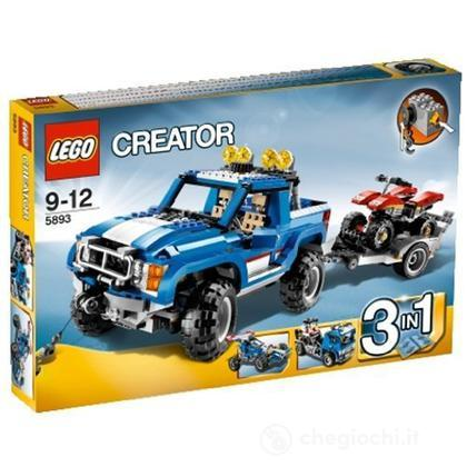 LEGO Creator - Fuoristrada e quad (5893)