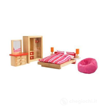 Camera da letto casa delle bambole