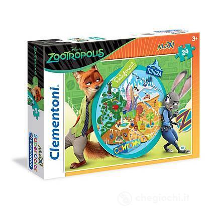 Puzzle Maxi 24 pezzi - Zootropolis