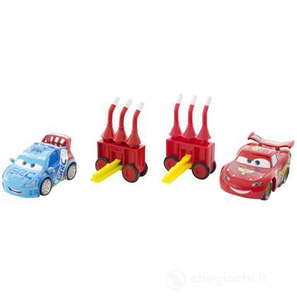 Cars 2 Action Agents Battle pack - Saetta McQueen eRaoul (V8651)
