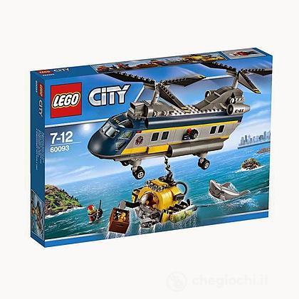 Elicottero di salvataggio - Lego City Deep Sea Explorers (60093)