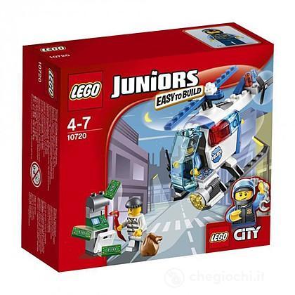Inseguimento sull'elicottero della Polizia - Lego Juniors (10720)