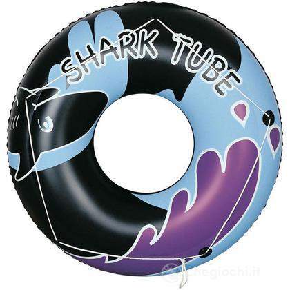 Ciambellone Gonfiabile Shark Tube