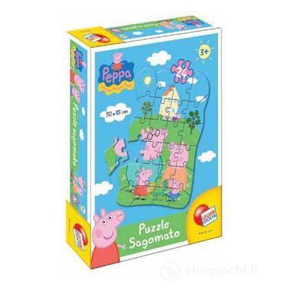 Peppa Pig puzzle sagomato 24 pezzi (40667)