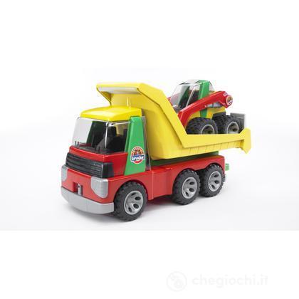 Roadmax Camion ribaltabile con ruspa (20070)