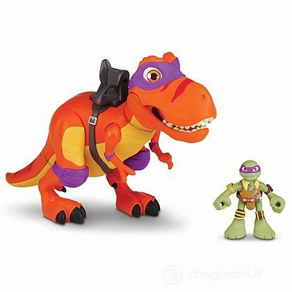 Turtles T-Rex Con Donatello (04000)