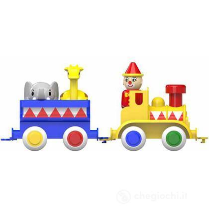 Maxi treno clown con animali