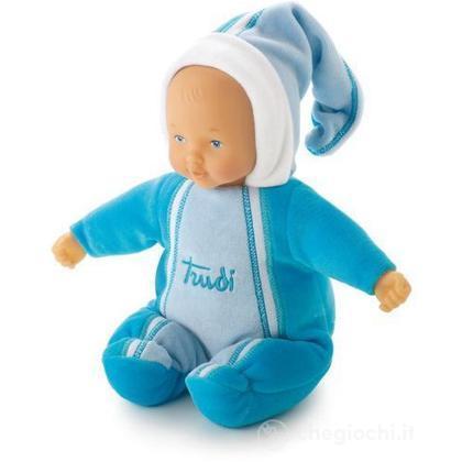 Bambola Azzurra Con Carillon