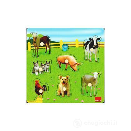 Puzzle con suono - Animali