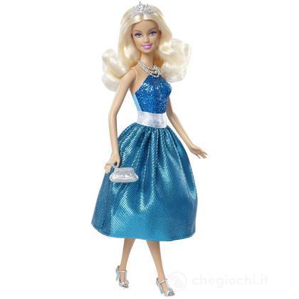 Barbie principessa al party - Barbie abito azzurro (T7590)