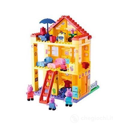 Peppa pig costruzioni casa a tre piani set costruzioni for Casa a tre piani