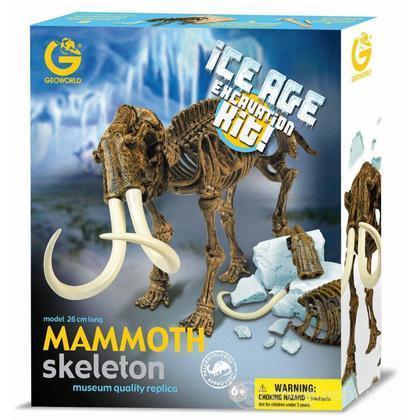 Ice Age Excavation Kit - Mammut Scheletro