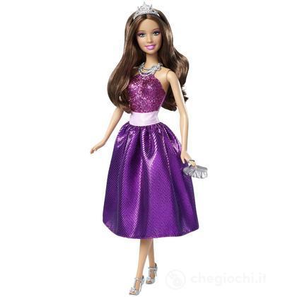 Barbie principessa al party - Teresa abito viola (T7592)
