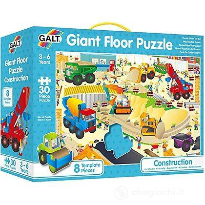 Grande puzzle pavimento: Cantiere