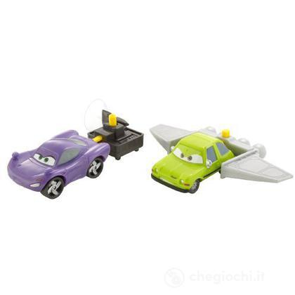 Cars 2 Action Agents Battle pack - Holley Shiftwell e Ace (V4249)