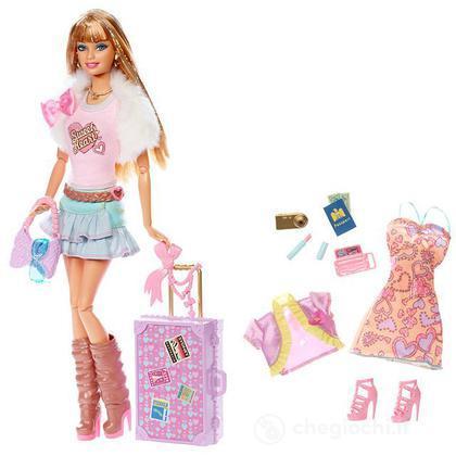 Barbie Fashionistas in viaggio - Sweetie (V9514)