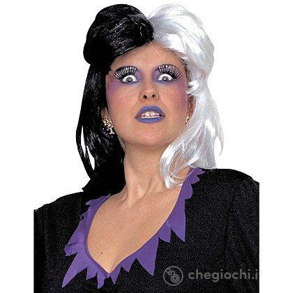 Parrucca bianca e nera / Crudelia De Mon (W6089)