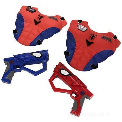 Spider-Man mega pistola laser set con luci e suoni (550902)