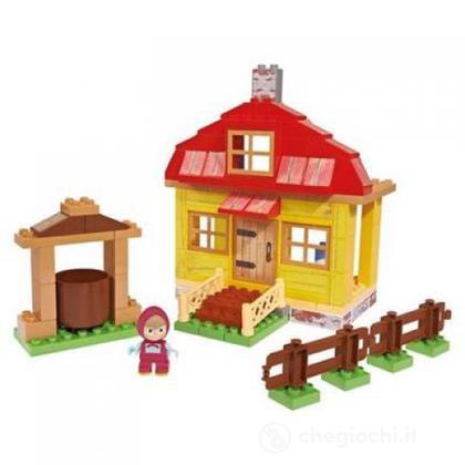 Masha Costruzioni casa di Masha con un personaggio incluso