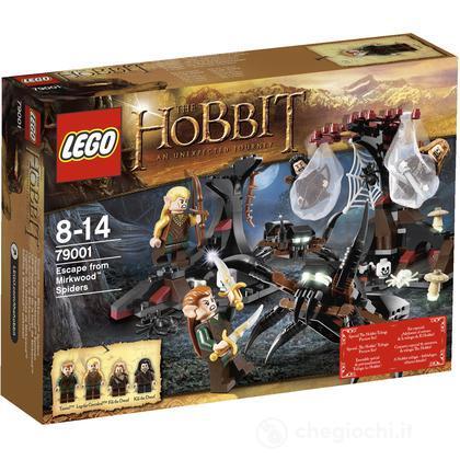 Fuga dai ragni di Bosco Atro - Lego Il Signore degli Anelli/Hobbit (79001)