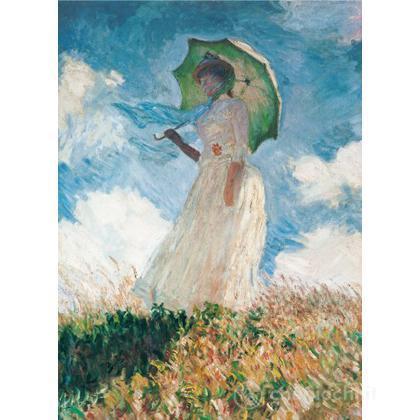 Monet - Donna con l'ombrello 1000 pezzi (39099)