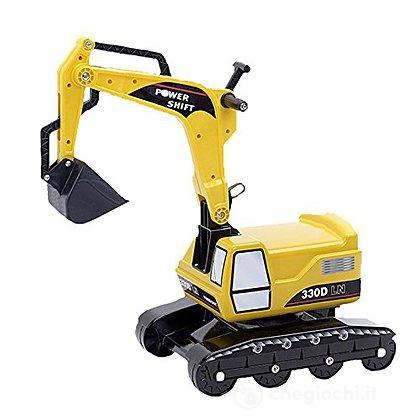 Escavatore cavalcabile giallo 330 D POWER SHIFT  (2/5 anni) NEW!