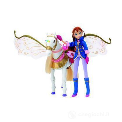 Bloom e Peg sulle ali della magia Winx