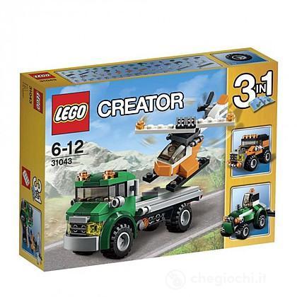 Trasportatore di elicotteri - Lego Creator (31043)