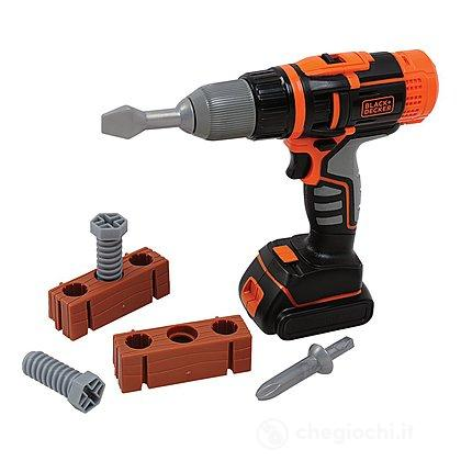 Black Decker trapano avvitatore (7600360108)