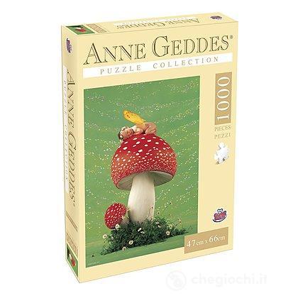 Puzzle Anna Geddes 1000 Pezzi, Mushroom