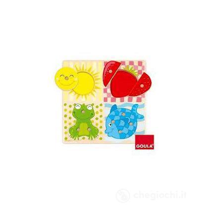 Puzzle 4 Colori (53110)