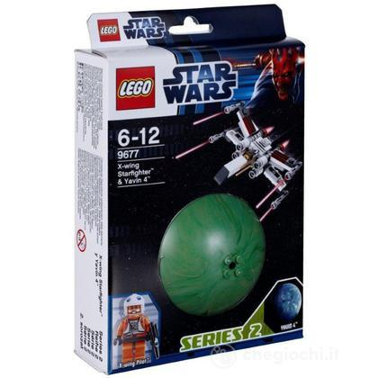 X-wing Starfighter & Yavin 4 - Lego Star Wars (9677)