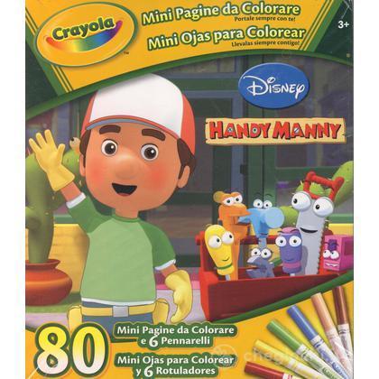 Mini pagine da colorare Handy Manny