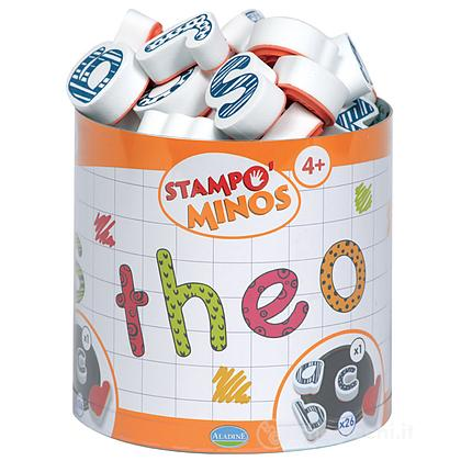 Stampo Minos - Lettere Minuscole