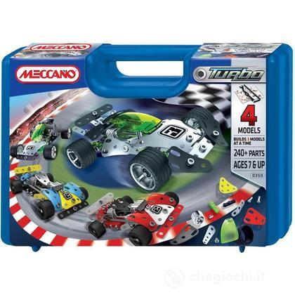 Meccano Turbo RC rally car