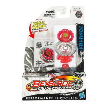 Beyblade Metal Masters - Flame Serpent B -120 SW 145F Balance (36502)