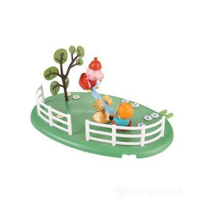 Peppa Pig Playground Playset See Saw Altalena