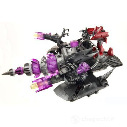 Energon Driller Veicolo Transformers Cyberverse + Knock out