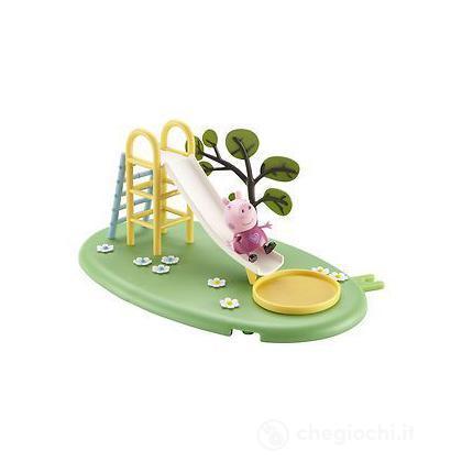Peppa Pig Playground Playset Slide Scivolo