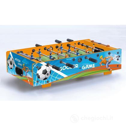 Calcio balilla da tavolo F-MINI con grafica Soccer Game