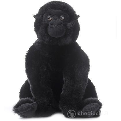 Gorilla seduto medio