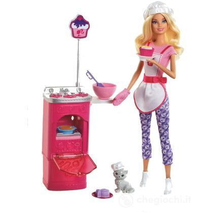 Barbie I Can Be Chef dei Cupcake (Y7380)