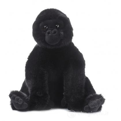 Gorilla seduto grande