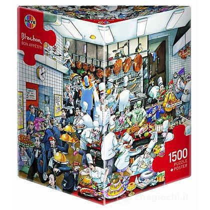 Puzzle 1500 Pezzi Triangolare - Bon Appètit!