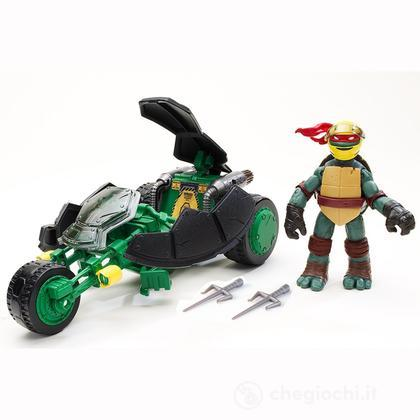 Veicolo Tartarughe Ninja con Tartaruga