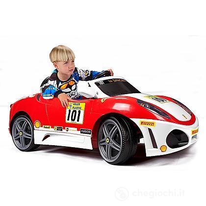 Ferrari F430 Challenge Macchinina Elettrica con Luci e Suoni 6 V